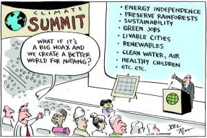 climatesummit cartoon